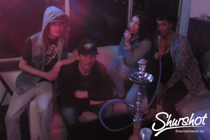 April 25th - B-Town's Finest Show by Shurshot Entertainment!  Picture: Smoking a Hookah while watching the entertainment  #Shurshot #BTwonsFinest #Event #Party #GoodVibes #Brampton