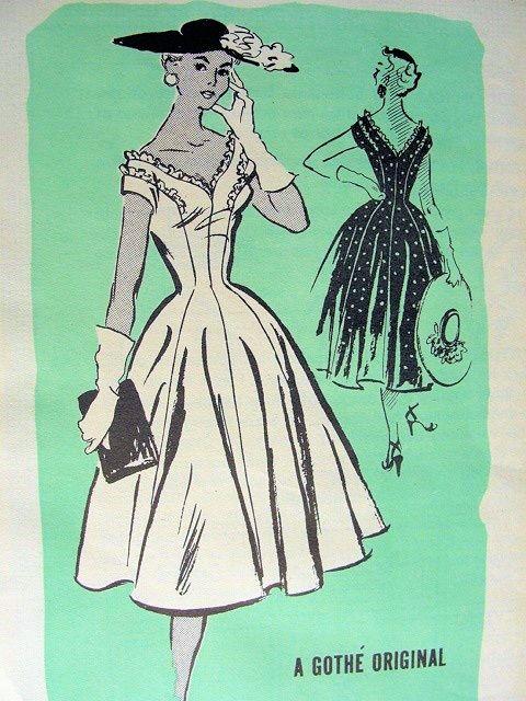 1950-х годов известным дизайнером платье выкройка 548 знак оригинальный…
