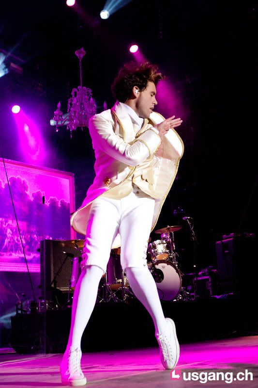 Mika @ Paléo festival, Switzerland - July 23, 2011