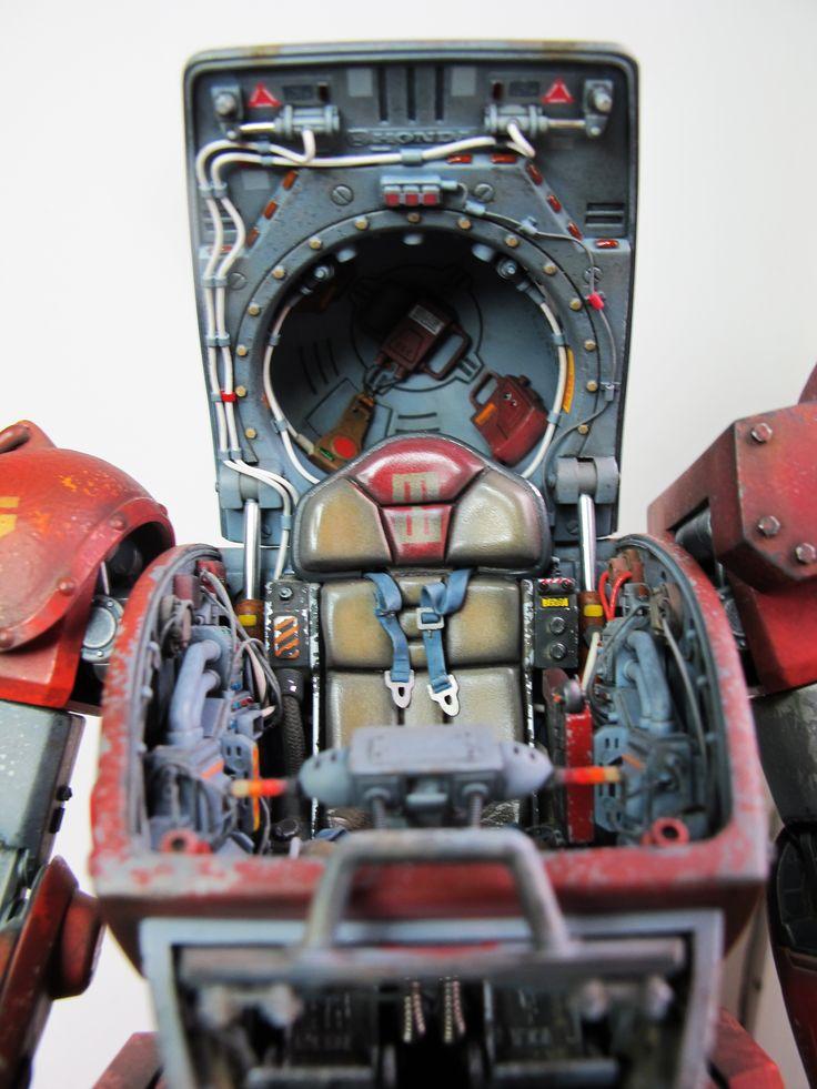 Scopedog cockpit model