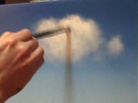 One of my favorite Youtube artists, Tim Gagnon, shows his technique for forming very convincing and multi-dimensional clouds using acrylic paints. An excellent technique demonstration!