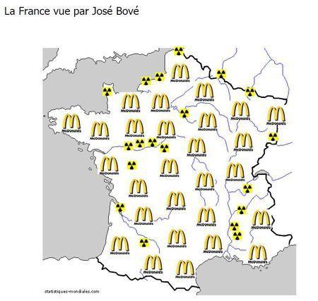 16 cartes de France... Vues par des étrangers !