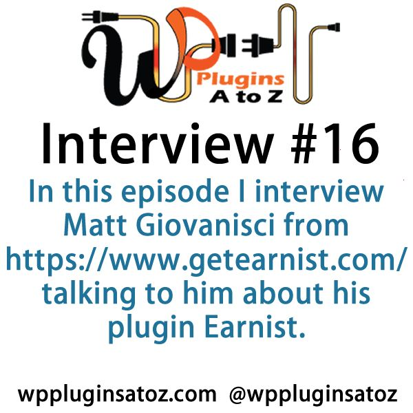 Interview Show 16 WP #Plugins A to Z - http://plugins.wpsupport.ca/interview-show-16-wp-plugins-z/