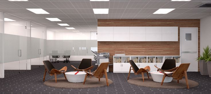 Sulzer Office 3D design