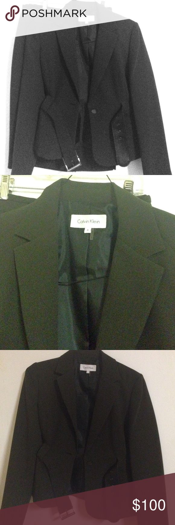 Classy Suit Beautiful suit (blazer and skirt), very classy, perfect for any occasion, modest, NEW! Calvin Klein Other