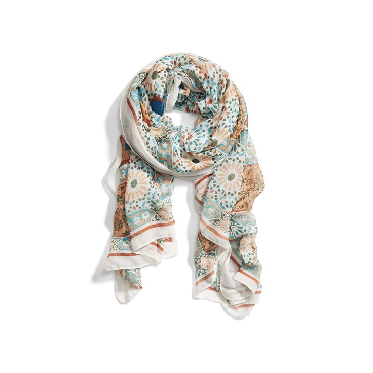 Stitch Fix Spring Must-Haves: Lightweight Printed Scarf