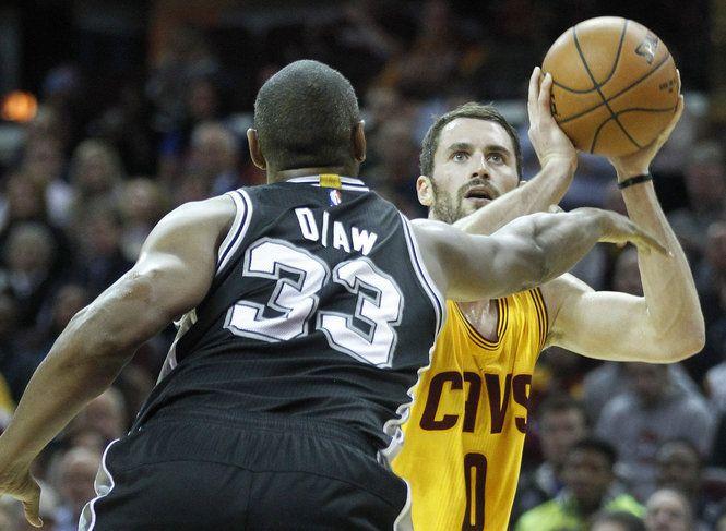 Kevin Love: Cavs vs. Spurs, Nov. 19, 2014