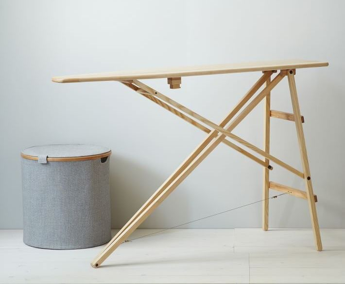 A friend recently asked me for help finding an ironing board presentable enough to leave out in the open. While I did my research, he plunged ahead and bou