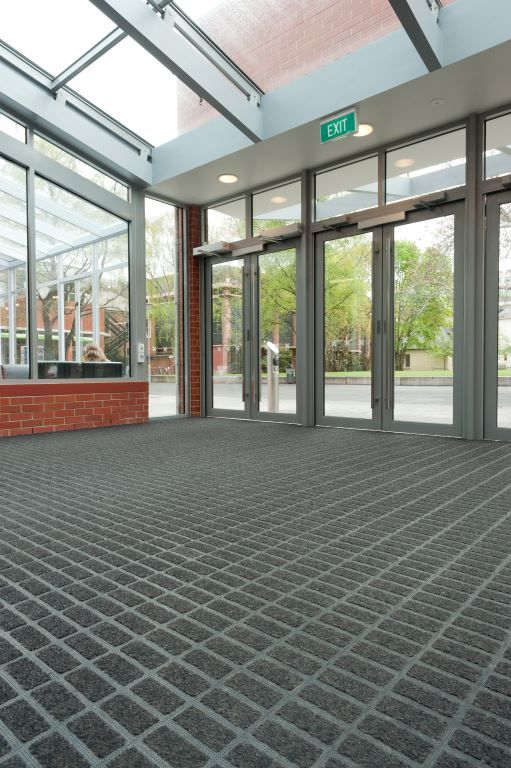 """Axis entrance matting has been successfully used recently in the University Union redevelopment at Otago University in Dunedin. Warwick McLaren of Parker Warburton Team Architects says, """"The..."""