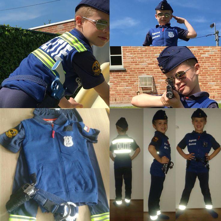 Politie kostuum ,police costume