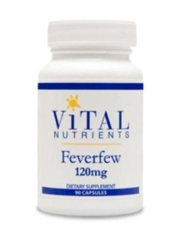 Vital-Nutrients-Feverfew-120-mg-90-Capsules-VNFE-2-Pk-Exp-8-17-SD