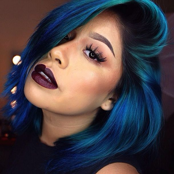 Mermaid color hair | Awesome Hair Colors | Hair, Hair ...