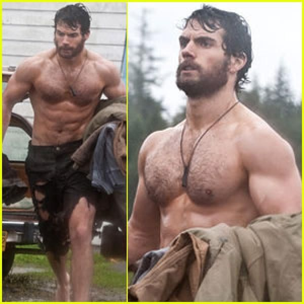 Henry Cavill - Man of Steel. I saw the new Superman movie- gun to head, i can't tell you what it was about & who was in it. I had a hard time trying to hear the dialogue over the sound of my ovaries!