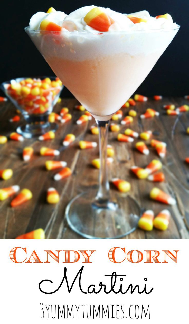 So creamy and dreamy with candy corn infused vodka!
