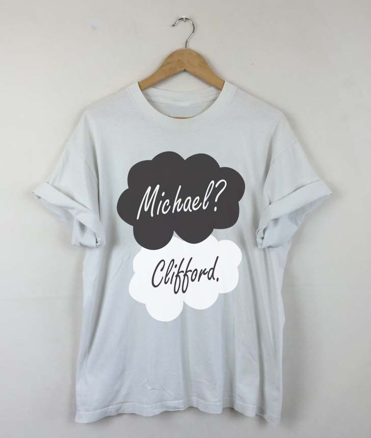 Okay Okay Michael Clifford T-shirt, Michael Clifford 2015, Michael Clifford 5SOS, Michael Clifford Quotes, TFIOS, Men and Women Shirt by RizalDesign on Etsy