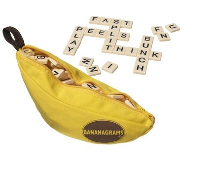 Bananagrams - Players race against each other to complete a crossword grid using all their letter tiles first.