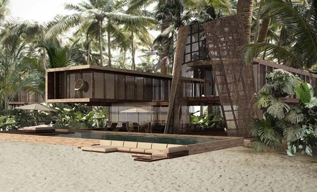 Isla Pasión: Luxury hotel inspired Mayan architecture