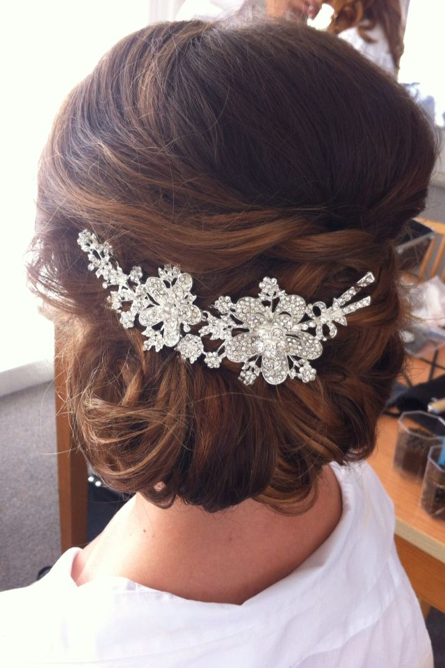 Bridal upstyle