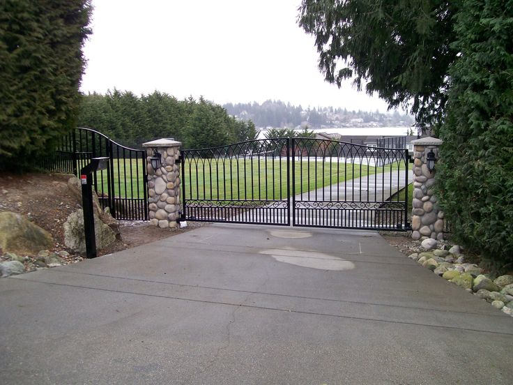 Best custom residential iron gates by automated