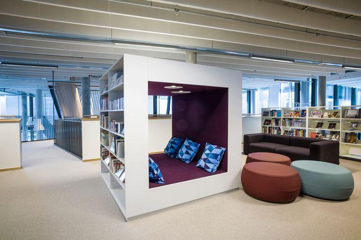 Meer dan 1000 afbeeldingen over bibliotheekinrichting op pinterest bibliotheekmeubelen - Idee bibliotheek ...