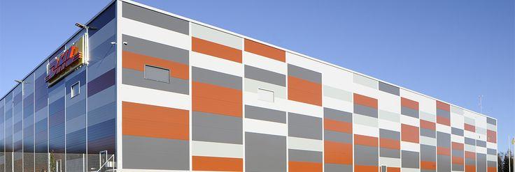 dhl oulu - logistiikkakeskus 2013