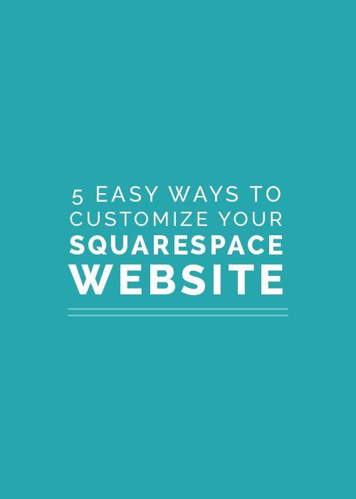 197 best Squarespace images on Pinterest Website designs, Design