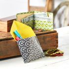 Make a fun Duck Tape® Wallet using your favorite colors and patterns