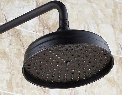 Oil rubbed bronze shower head