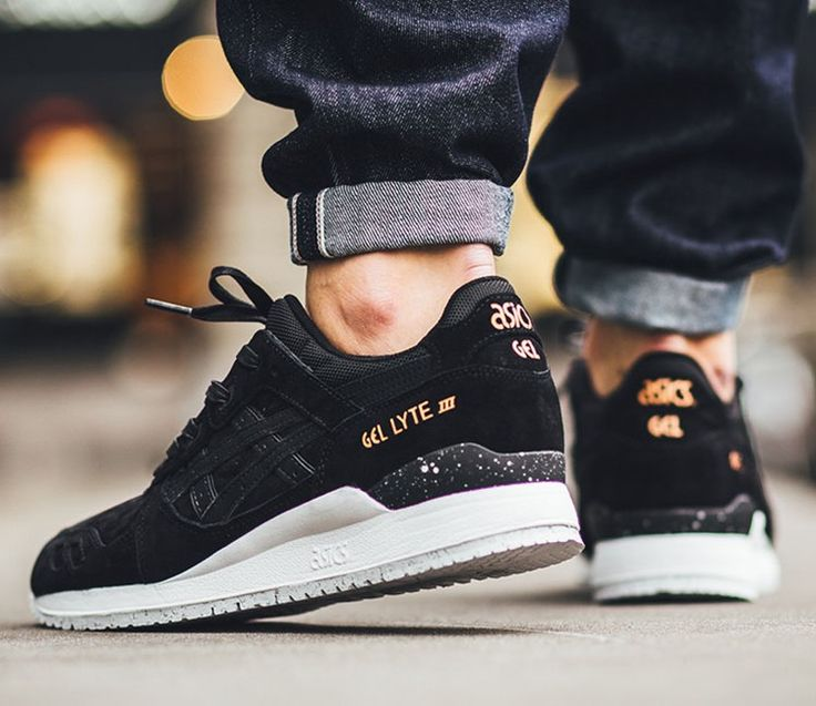 ASICS GEL LYTE III ROSE GOLD PACK–BLACK