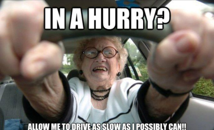 Get Your Laugh On To These 22 Funny Old People Memes