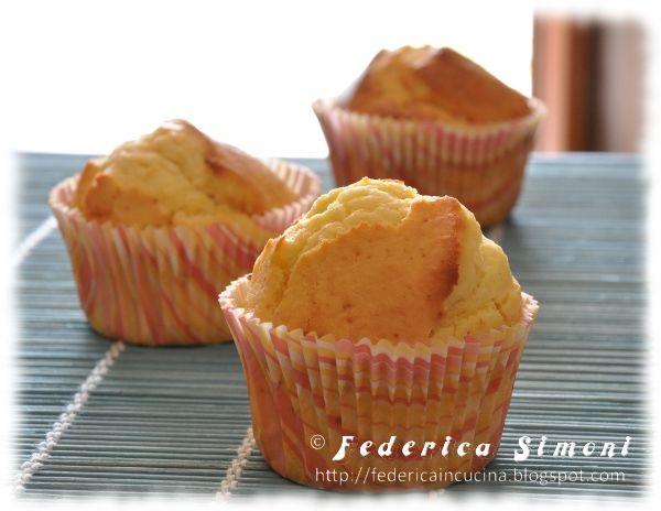 La cucina di Federica: Muffin alla ricotta
