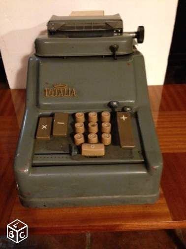 caisse enregistreuse ancienne totalia vintage d coration var nadine barczyk les. Black Bedroom Furniture Sets. Home Design Ideas