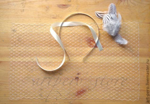 Как сделать вуалетку своими руками - Ярмарка Мастеров - ручная работа, handmade