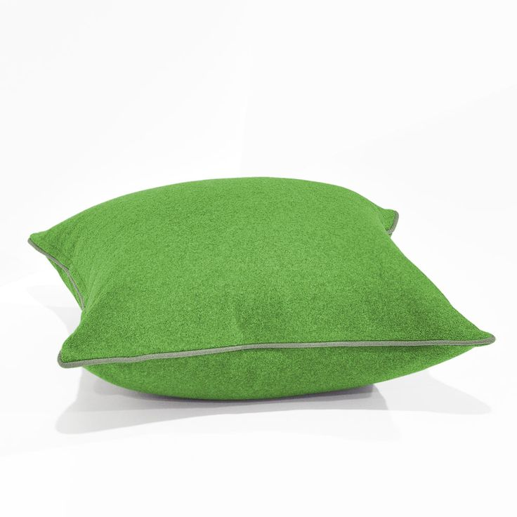 Augustus Lime/Wolf Floor Cushion 60x60cm