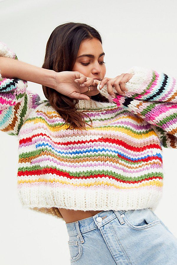 Sundry Tie Dye Crop Pullover - 0   Pullover, Tie dye, Fashion