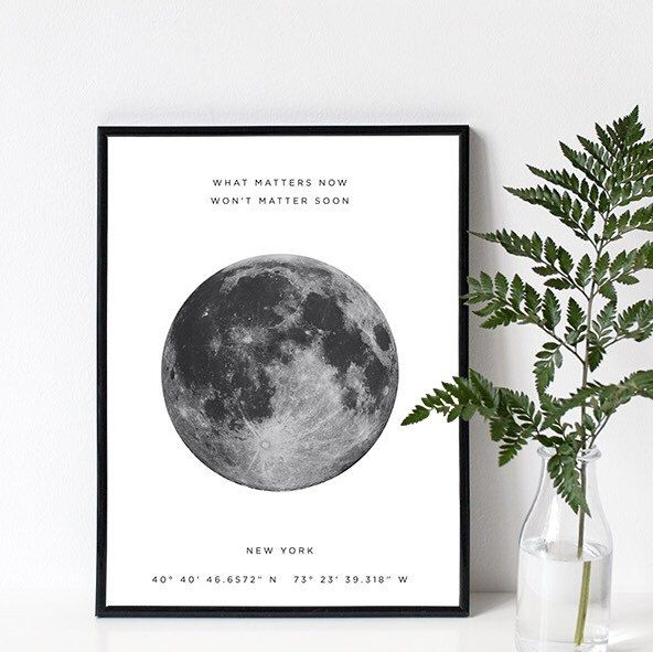 Love the print I've just emailed off. Buyer wanted to add a beautiful quote 'What matters now won't matter soon' - I love it even more!