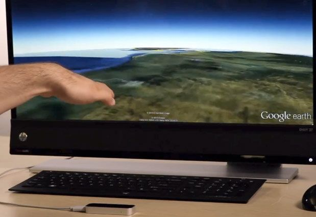 Google Earth gets Leap Motion support, lets you explore the planet with touch-free control