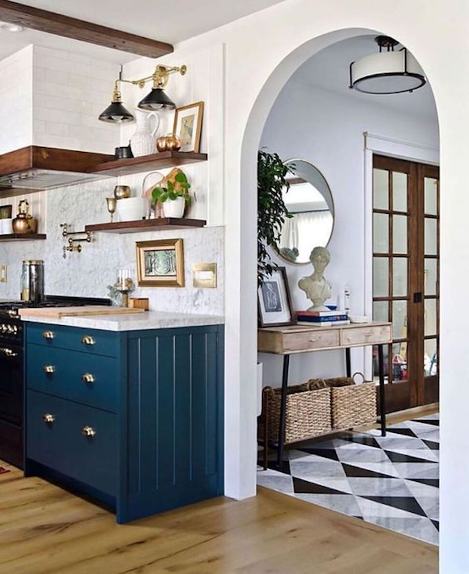 2020 paint trend 5 classic blue kitchensbecki owens in 2020 interior design kitchen home on kitchen interior trend 2020 id=82428