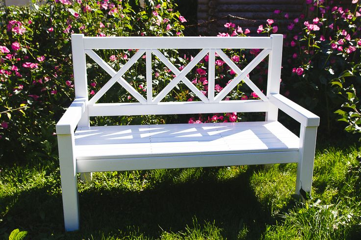 Ana White bench variation. Siberian edition) | Do It Yourself Home Projects from Ana White