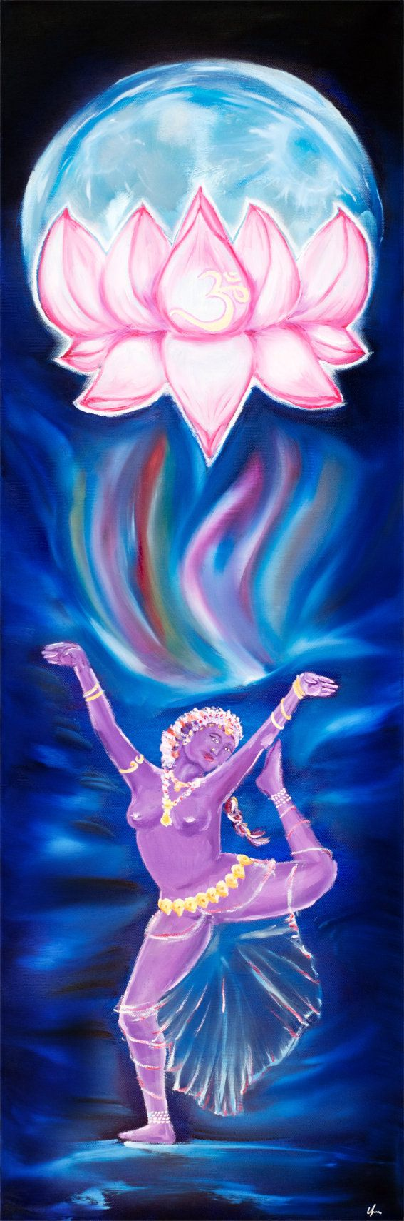 Devi  Lotus Moon Dancer Series by MissSharda on Etsy