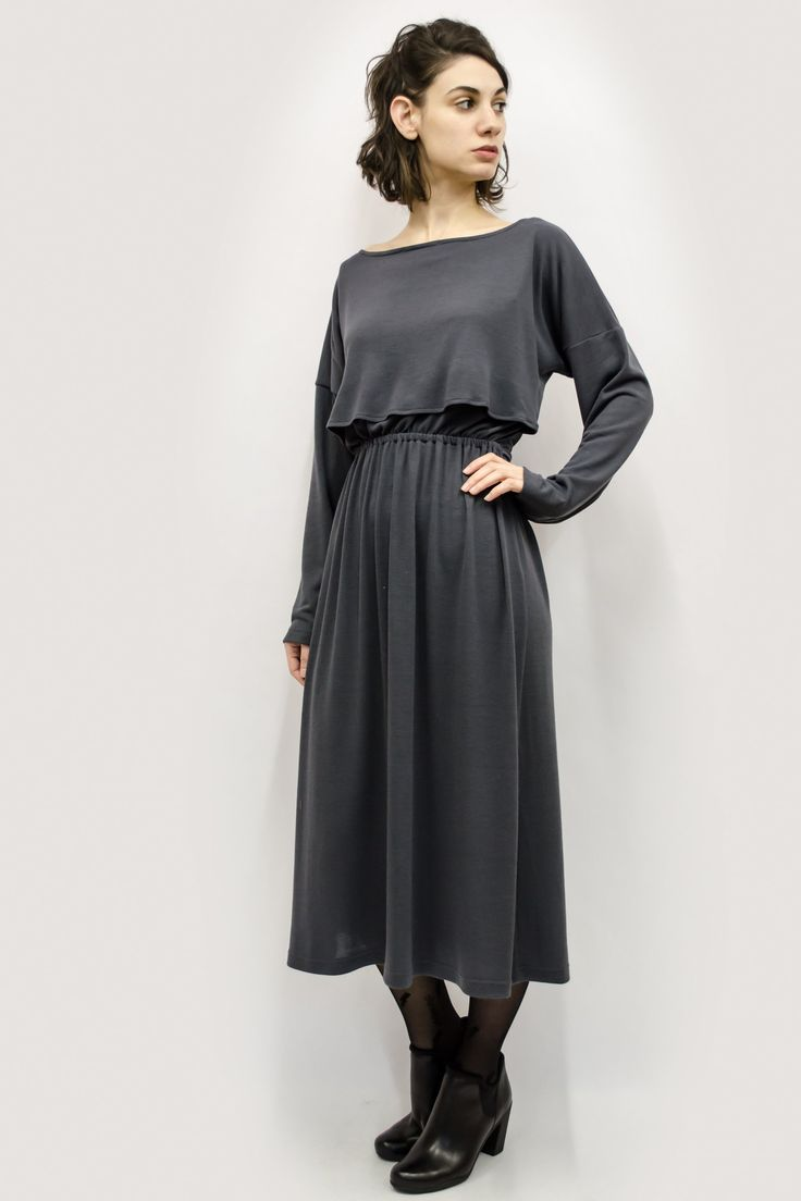 Dress Naomi in Jersey Knit Colors – Akira Mushi