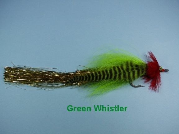 Caledonia Green Whistler Fly