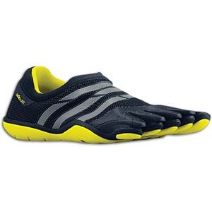 adidas adiPure Barefoot Trainer Mesh - Mens - Tech Grey/Tech Onix/Lab Lime in Fall Sports 2012 from Eastbay