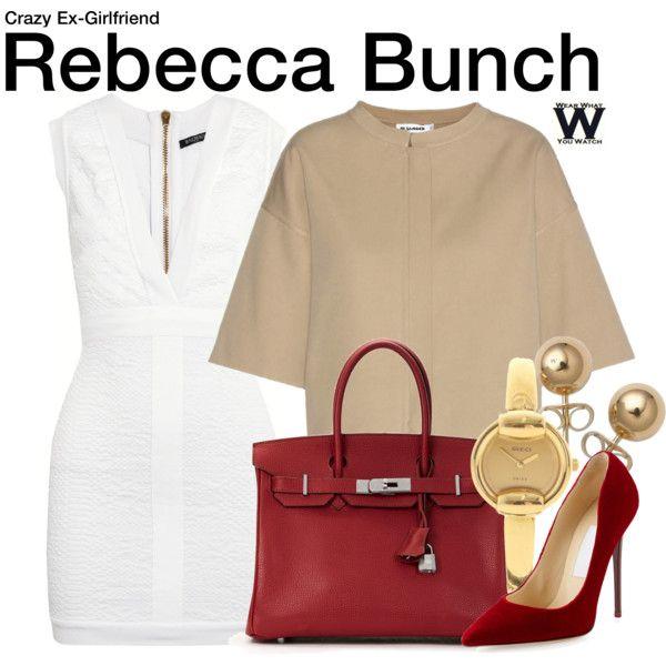 Inspired by Rachel Bloom as Rebecca Bunch on Crazy Ex-Girlfriend