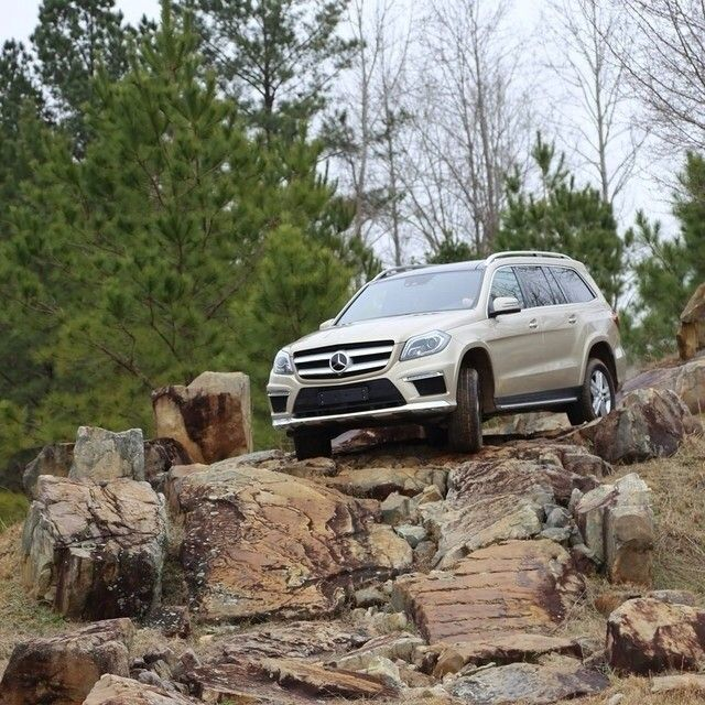 Having some fun at the test track in Vance. Photo by Markus Jordan @Marianne Boyles #MBRT14 #roadtrip #SUV #4WD #AWD #mercedes #GL #benz #instacar