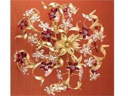 Lampadari in ferro battuto collezione Alsibilla