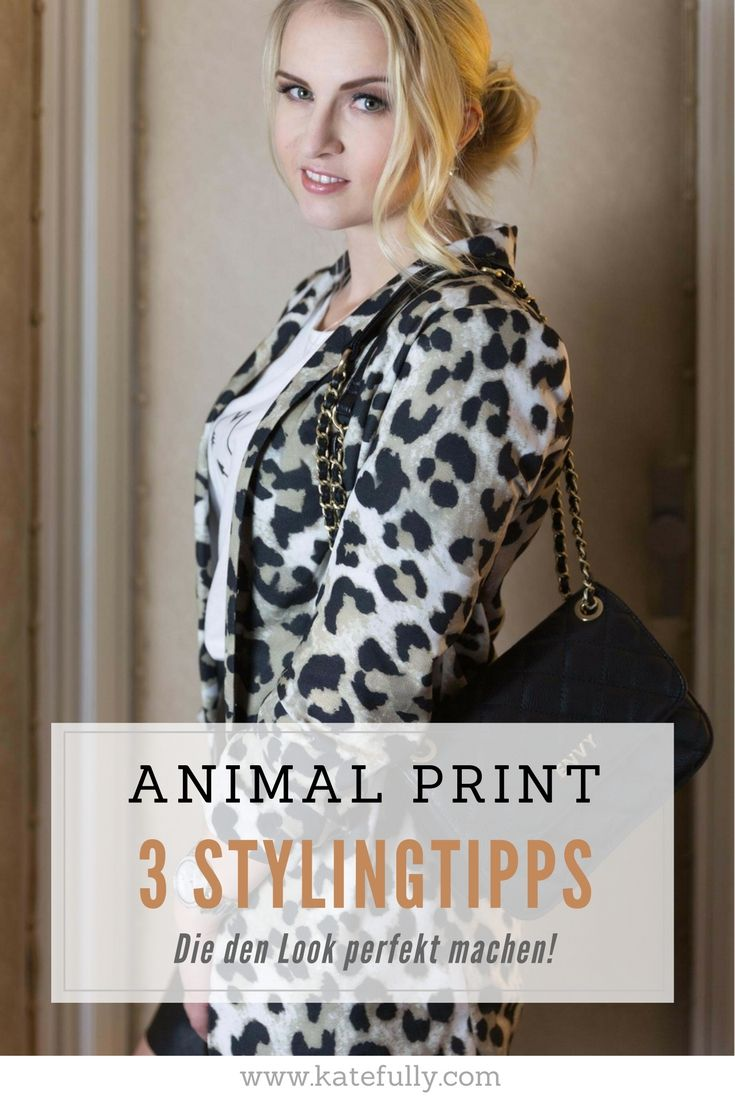 ANIMAL PRINT –  THE WILD SIDE