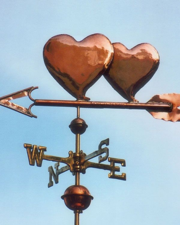 'Lucky Pennies' - West Coast Weathervanes
