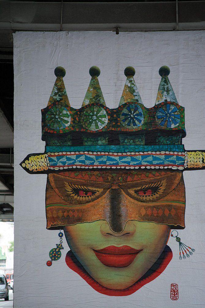 Mascaras Afro-Brasileiras nas ruas de Sampa: http://bit.ly/1LLz3ux