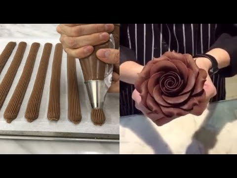 Como Hacer Pasteles de CHOCOLATE - Decoracion Pasteles Increibles 2017 l Video Satisfactorio - YouTube